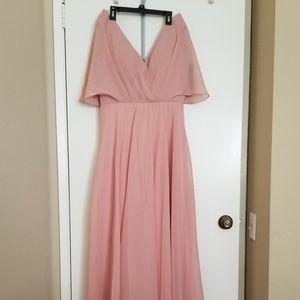 Jenna Flutter Sleeves dress (Parsealed brand)